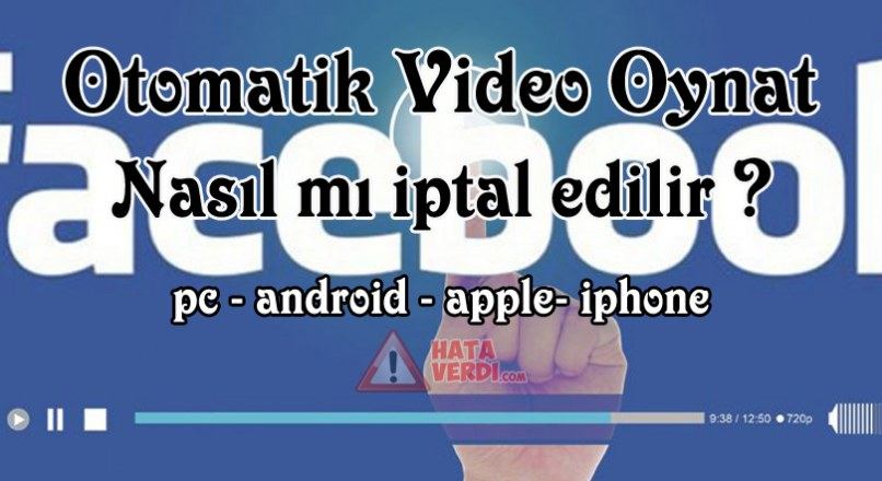How to stop videos running on Facebook automatically (Solution) (Mobile + Pc)