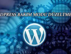 """WordPress bakım modu hata çözümü """"Briefly unavailable for scheduled maintenance. Check back in a minute"""""""