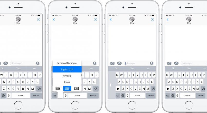 iOS 11 Tek El Klavyesi Nasıl Aktif Edilir ?