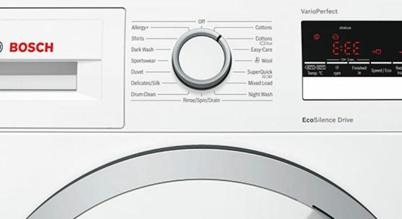 Bosch Çamaşır Makinesi Hata Kodlarının Anlamları