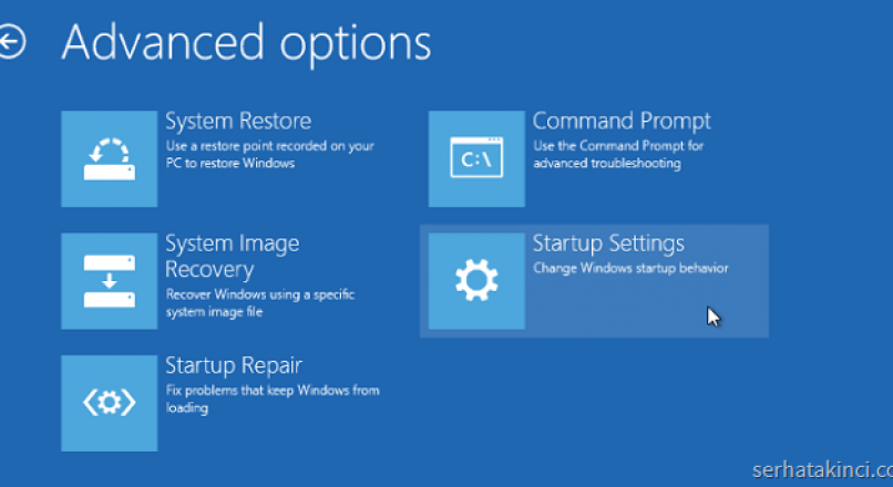 Windows 10 Bilgisayar Güvenli Mod'da nasıl başlatılır ?