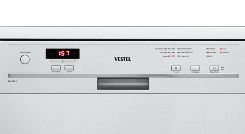 Vestel Bulaşık Makinesi Hata Kodu Anlamları ve Sorun Çözümleri
