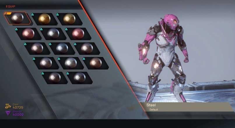 Anthem Javelin Nasıl Tasarlanır ? Iron Man ve Power Ranger White Tiger Beyaz Kaplan